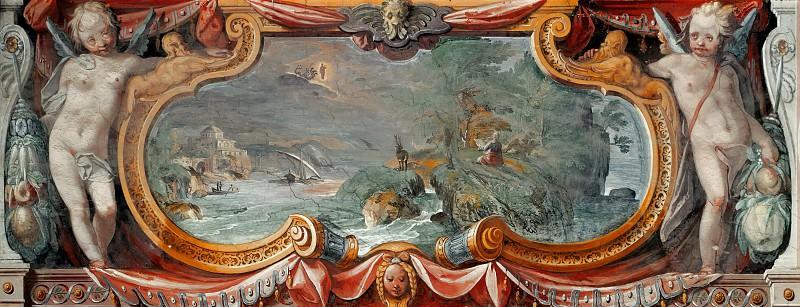 Видение святого Иоанна Богослова на острове Патмос. Маттейс Бриль