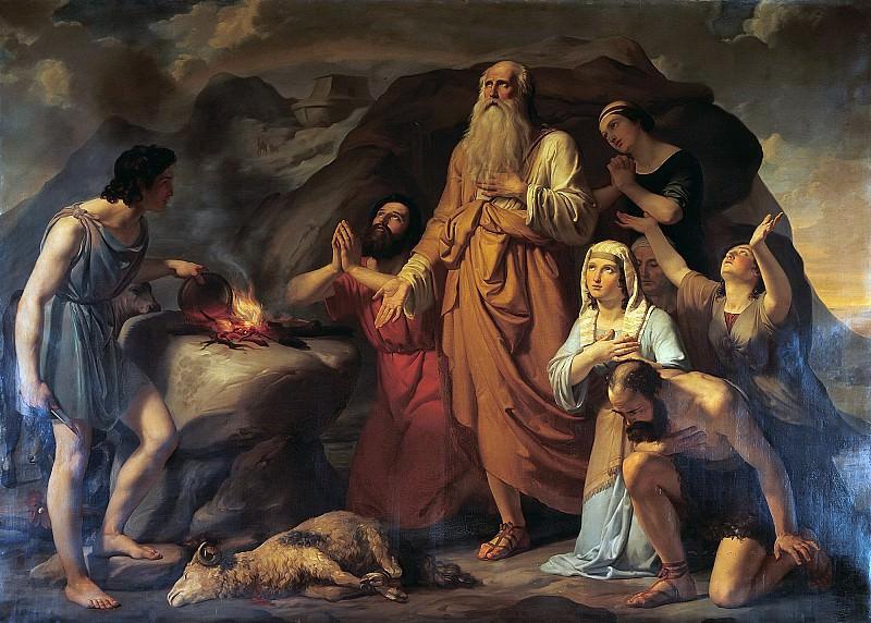 Жертвоприношение Ноя. Карло Беллозио