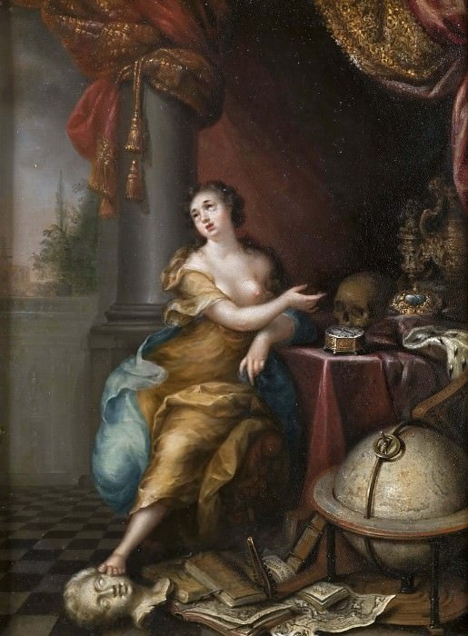 Allegory on the Vanity of Life. Andreas von Behn
