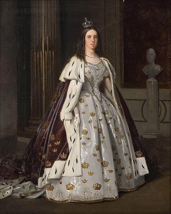 Lovisa (1828-1871), Queen, married king Karl XV. Carl Stefan Bennet