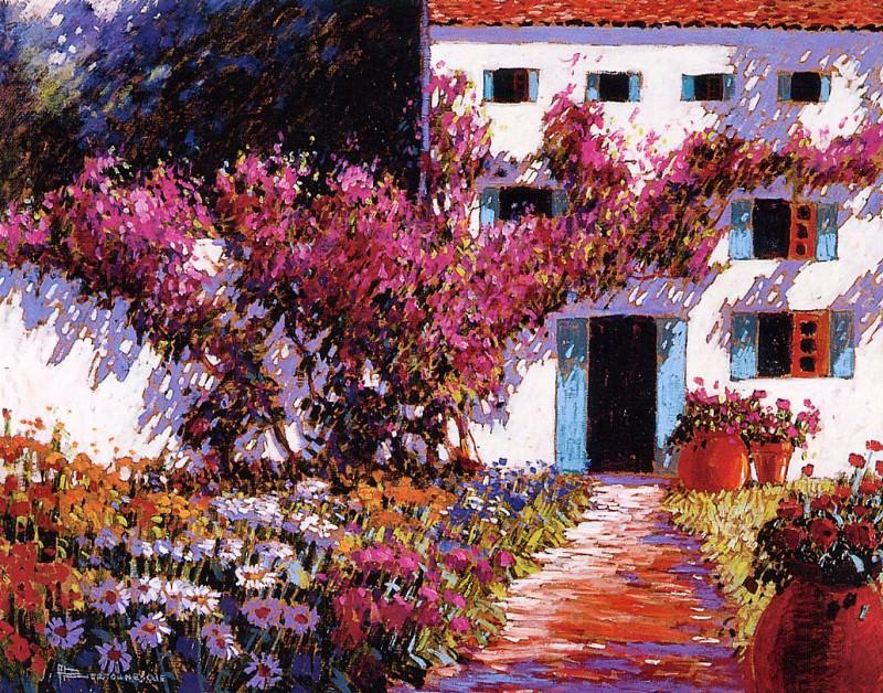 Цветочная стена. Андре Бертунеск