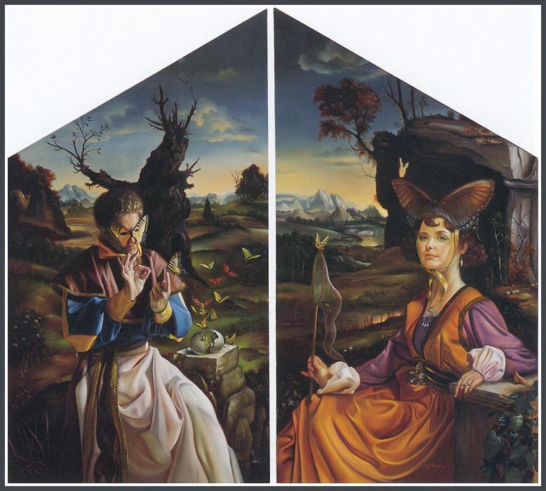 Коллекционеры бабочек. Дэвид Бауэрс