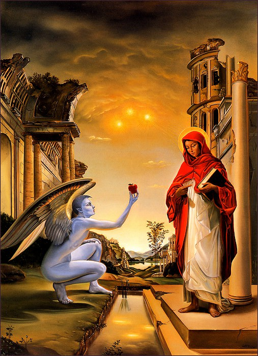 bs-fsf- David Bowers- The Annunciate. David Bowers