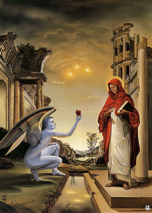 ma Sp7 David Bowers The Annunciate. David Bowers