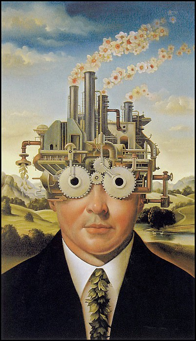 Factory Head. David Bowers