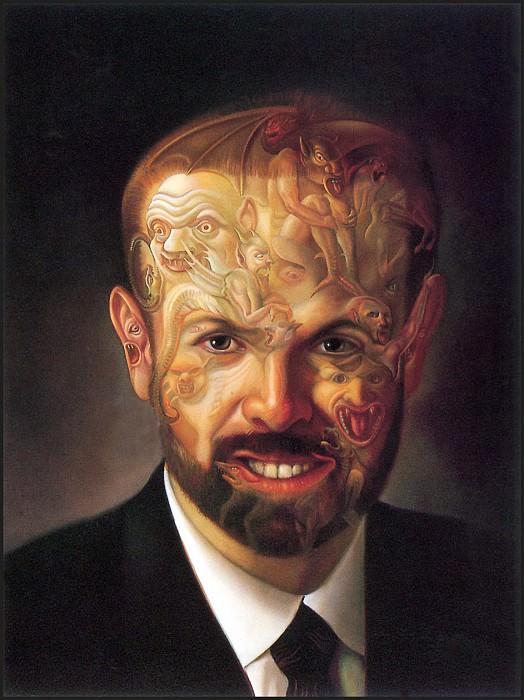 Demon Face. David Bowers