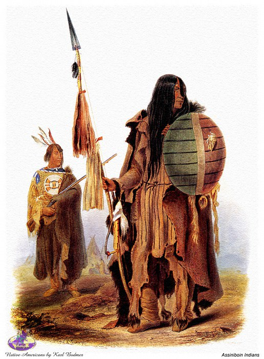 Sharper Native Americans. Karl Bodmer