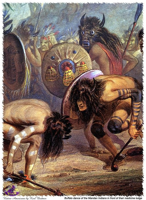 Sharper Native Americans. Karl Bodmer