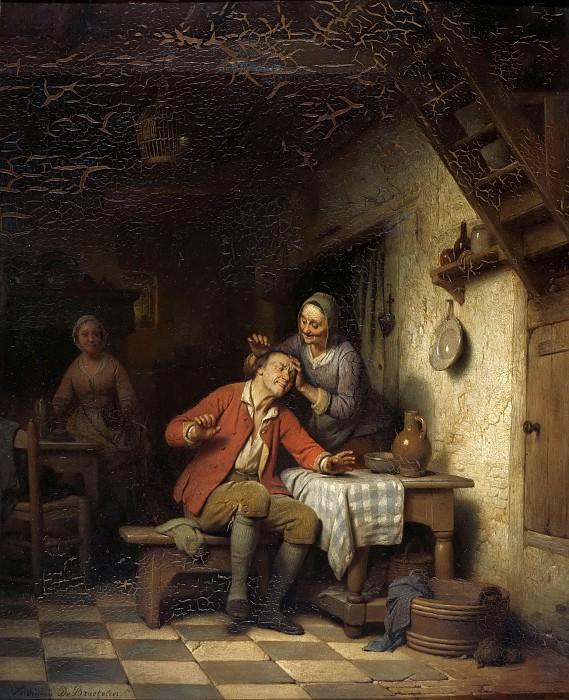 Стрижка старика. Фердинанд де Бракелер