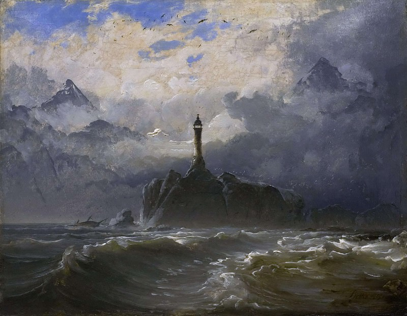Seascape. Peder Balke