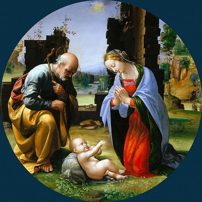 Поклонение Младенцу Христу. Фра Бартоломео (Баччо делла Порта)