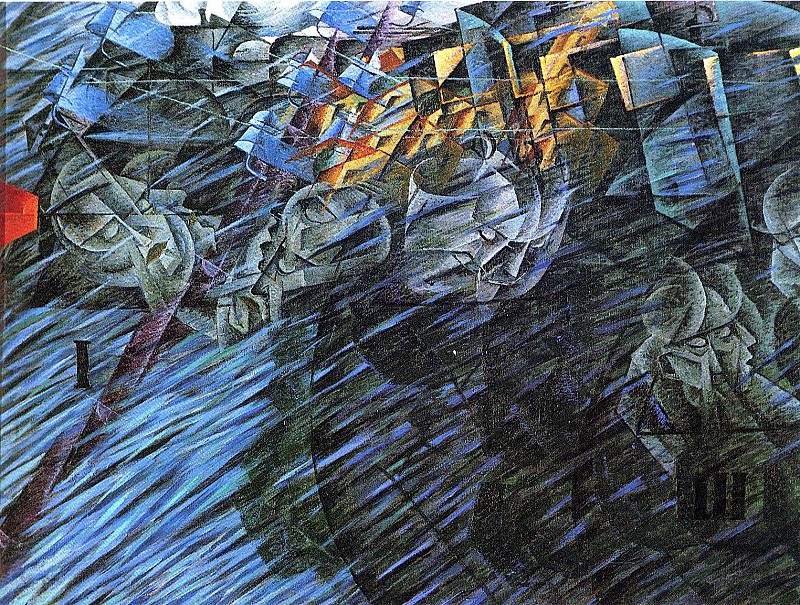art 845. Umberto Boccioni