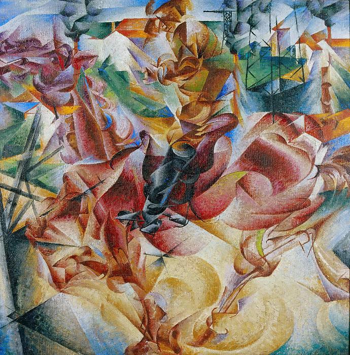 Twist Of Fate. Umberto Boccioni