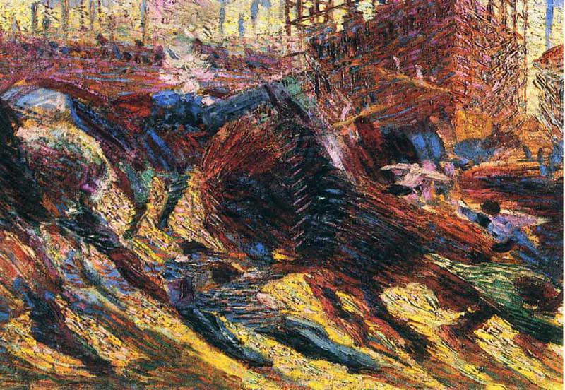 art 854. Umberto Boccioni