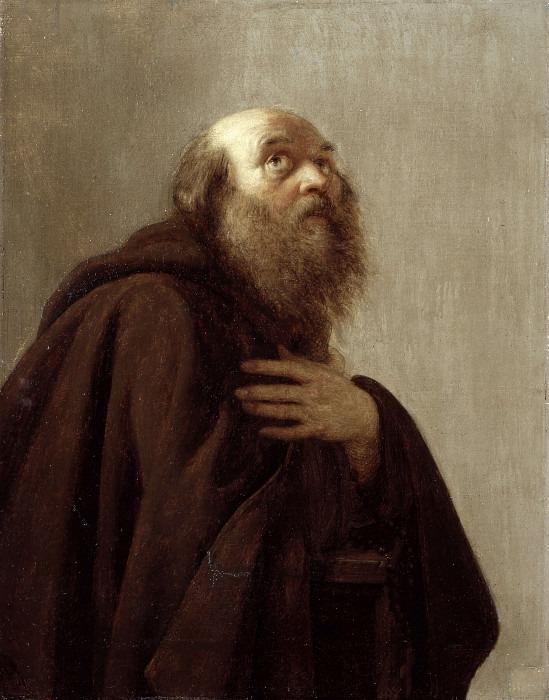 Капуцинский монах. Чезаре Элиа Бизиоли