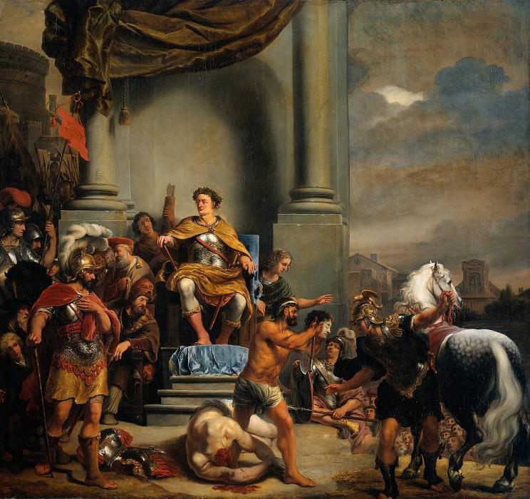 Consul Titus Manlius Torquatus Beheading His Son. Ferdinand Bol