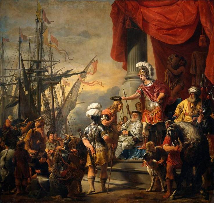 Aeneas at the Court of Latinus. Ferdinand Bol