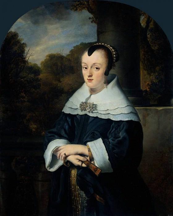 Maria Rey Wife of Roelof Meulenaer. Ferdinand Bol