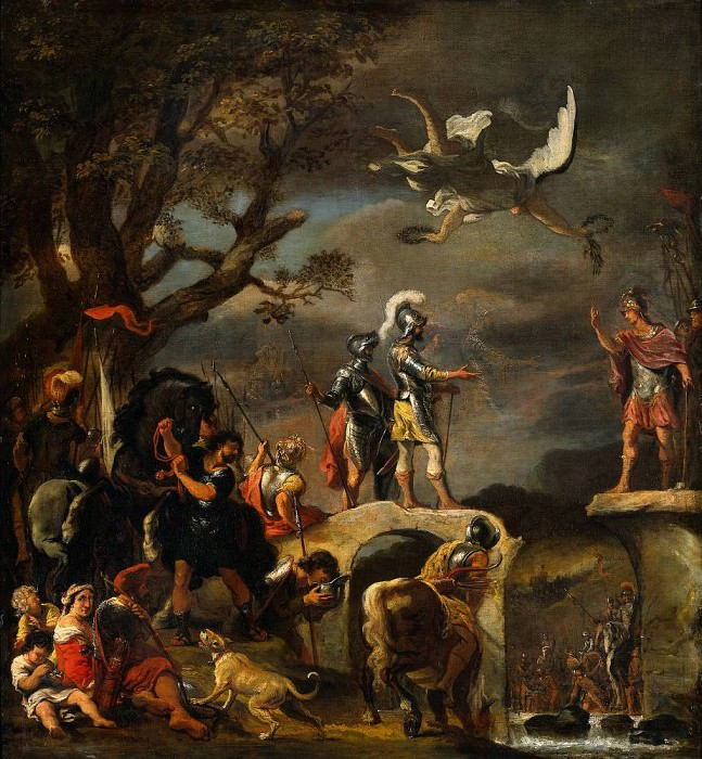The Peace Negotiations between Claudius Civilis and Cerealis. Ferdinand Bol