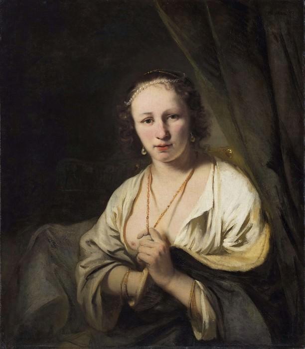 Woman portrait. Ferdinand Bol