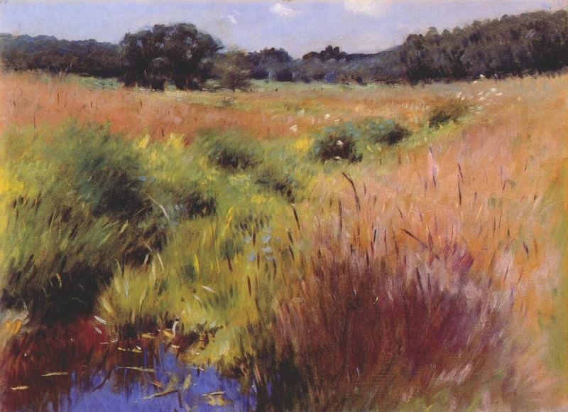 bunker marshland, medfield 1890. John Bunker