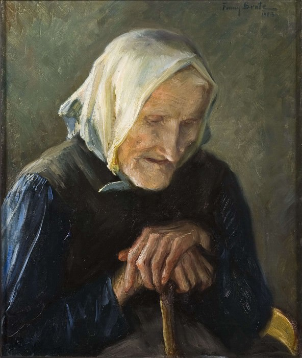 The Old Blind Woman. Fanny Brate