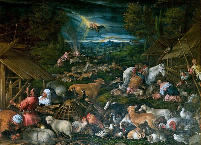 Noah Emerging from the Ark. Jacopo Bassano