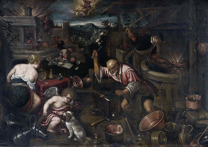 Fire. Jacopo Bassano (After)