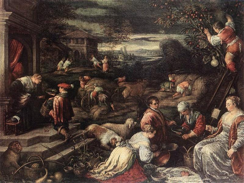 summer. Jacopo Bassano