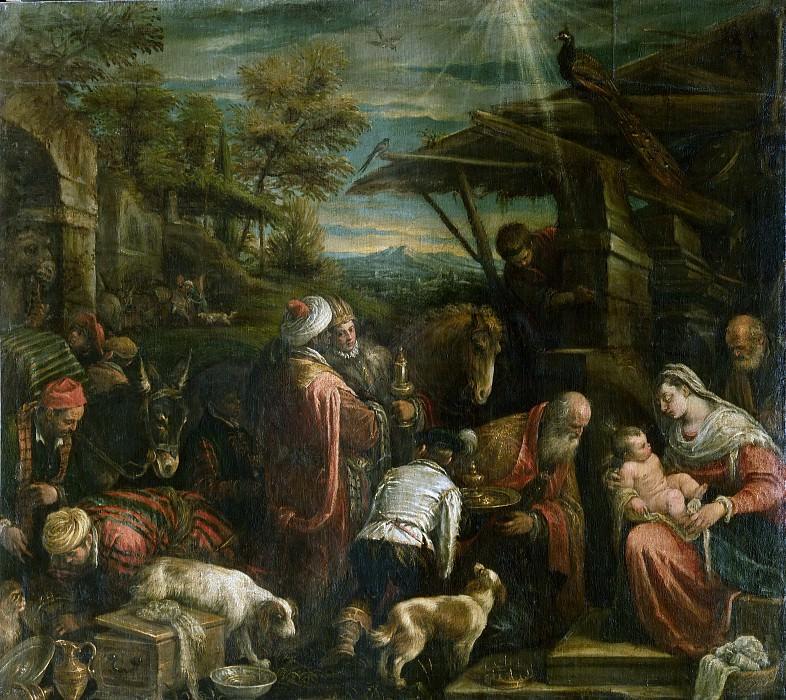 Adoration of the Magi. Jacopo Bassano