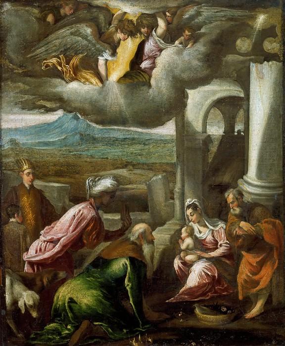 Поклонение волхвов. Якопо Бассано