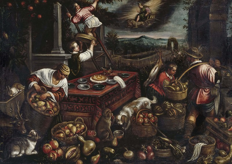 Earth. Jacopo Bassano (After)