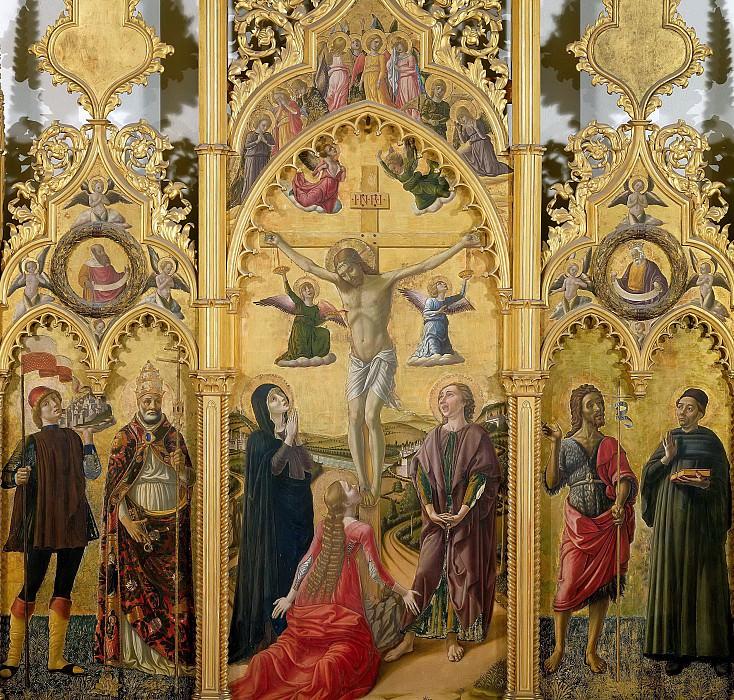 Триптих из Сан Венанцио в Камерино. Никколо (Никколо да Фолиньо) Аллуно