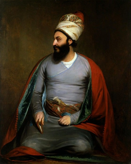 Mirza Abul Hassan Khan. Sir Henry William Beechey