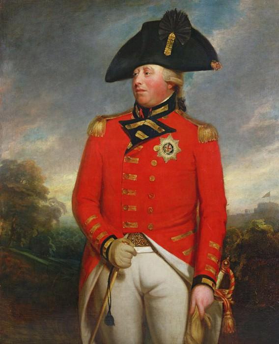 Portrait of King George III. Sir Henry William Beechey