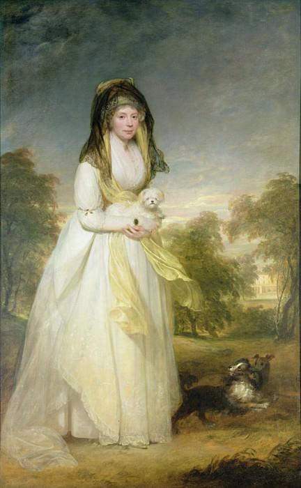 Portrait of Queen Charlotte (1744-1818), wife of King George III. Sir Henry William Beechey