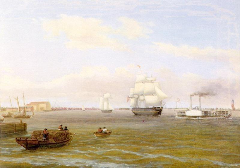 Вид на Филадельфию. Томас Бёрч