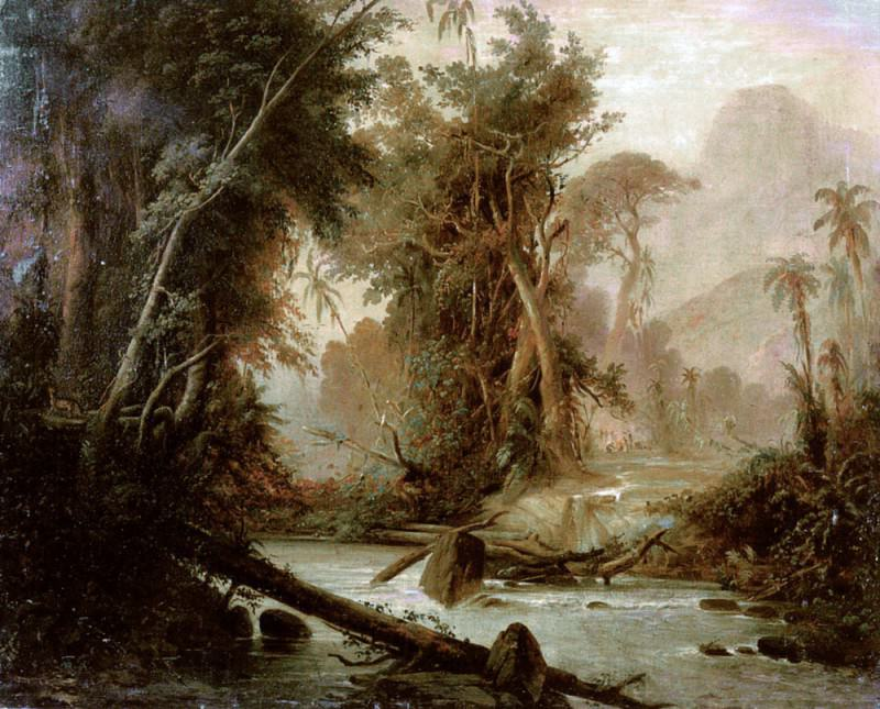 A Tropical Forest In Venezuela. Ferdinand Bellermann