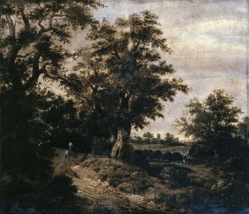Пейзаж с рыцарем и путниками. Клас ван Берестейн
