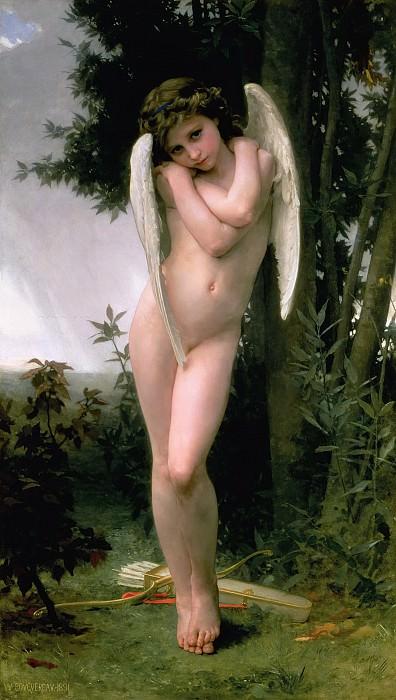 Cupidon. Adolphe William Bouguereau