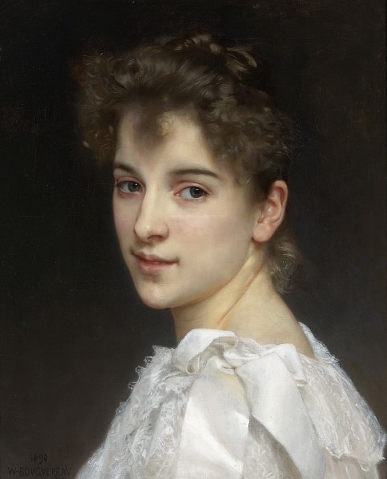 Gabrielle Cot. Adolphe William Bouguereau