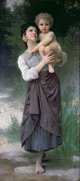 Mother and Child. Adolphe William Bouguereau
