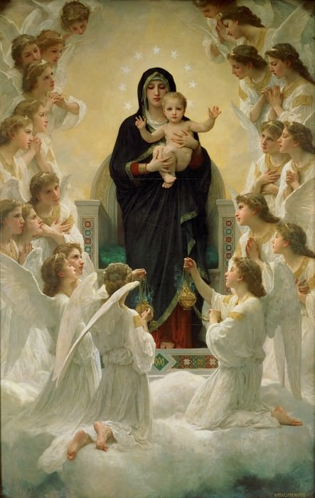 Regina Angelorum (Царица ангелов). Адольф Уильям Бугро