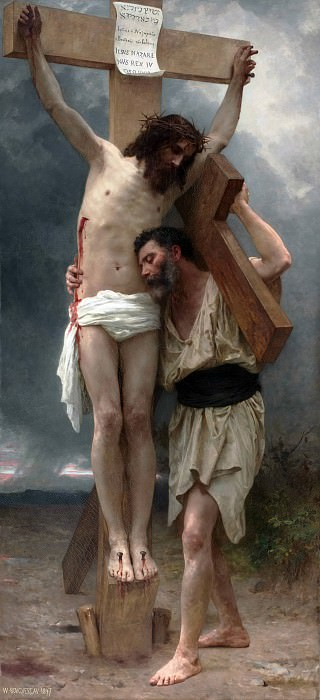 Compassion. Adolphe William Bouguereau
