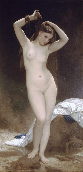Bather. Adolphe William Bouguereau
