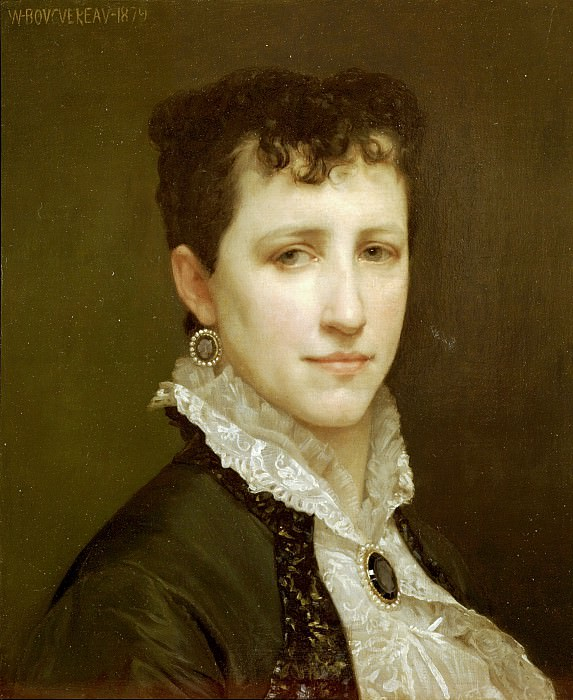 Elizabeth Gardner. Adolphe William Bouguereau