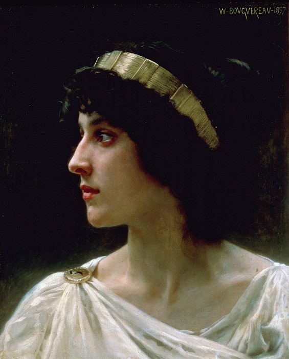 Irene. Adolphe William Bouguereau