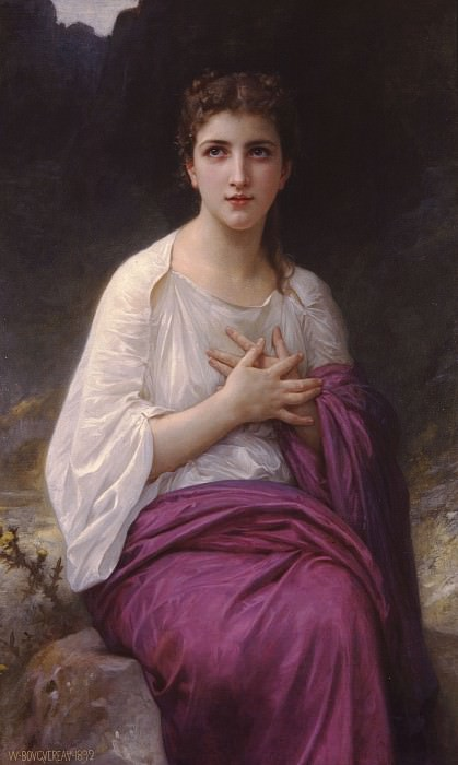 Psyche. Adolphe William Bouguereau