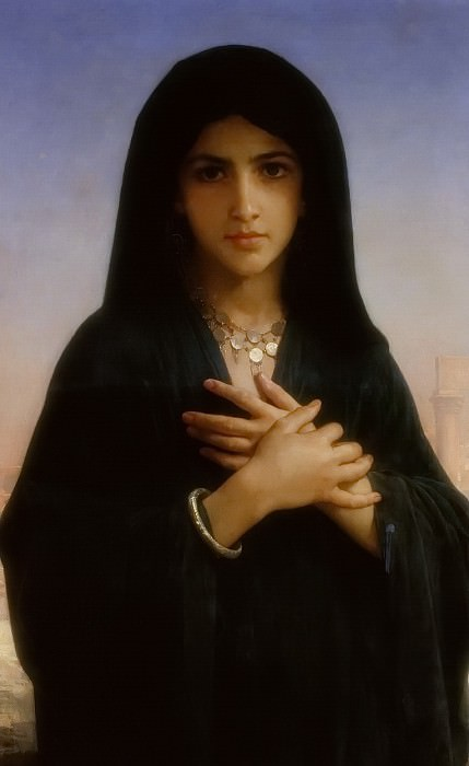 The Penitent. Adolphe William Bouguereau