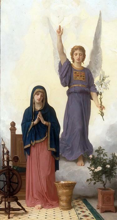 Annunciation. Adolphe William Bouguereau